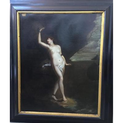 Tableau, XVIIème siècle - La Prisonnière