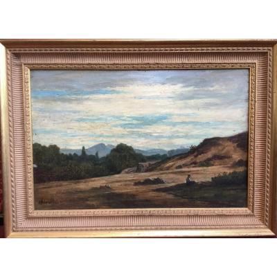 Chevallier Henri (1808 - 1893) - Animated Landscape