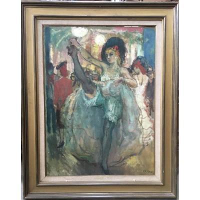 COSSON Marcel (1878-1956) - La danseuse de cancan