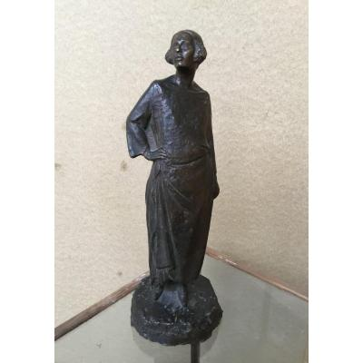 Akop GURDJAN (1881-1948) - bronze à patine brune
