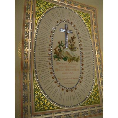 Reliquary Of Jerusalem - Stones Of The Monuments - Stations Of The Cross - Wood Of The Mount Of Olives
