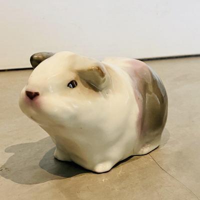 Cochon D'Inde Porcelaine