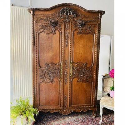 Carved Cabinet Louis XV Period