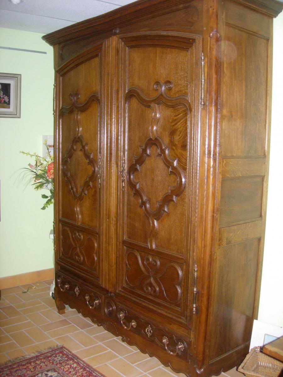 Armoire lorraine avec tiroirs armoires for Petite armoire avec tiroir