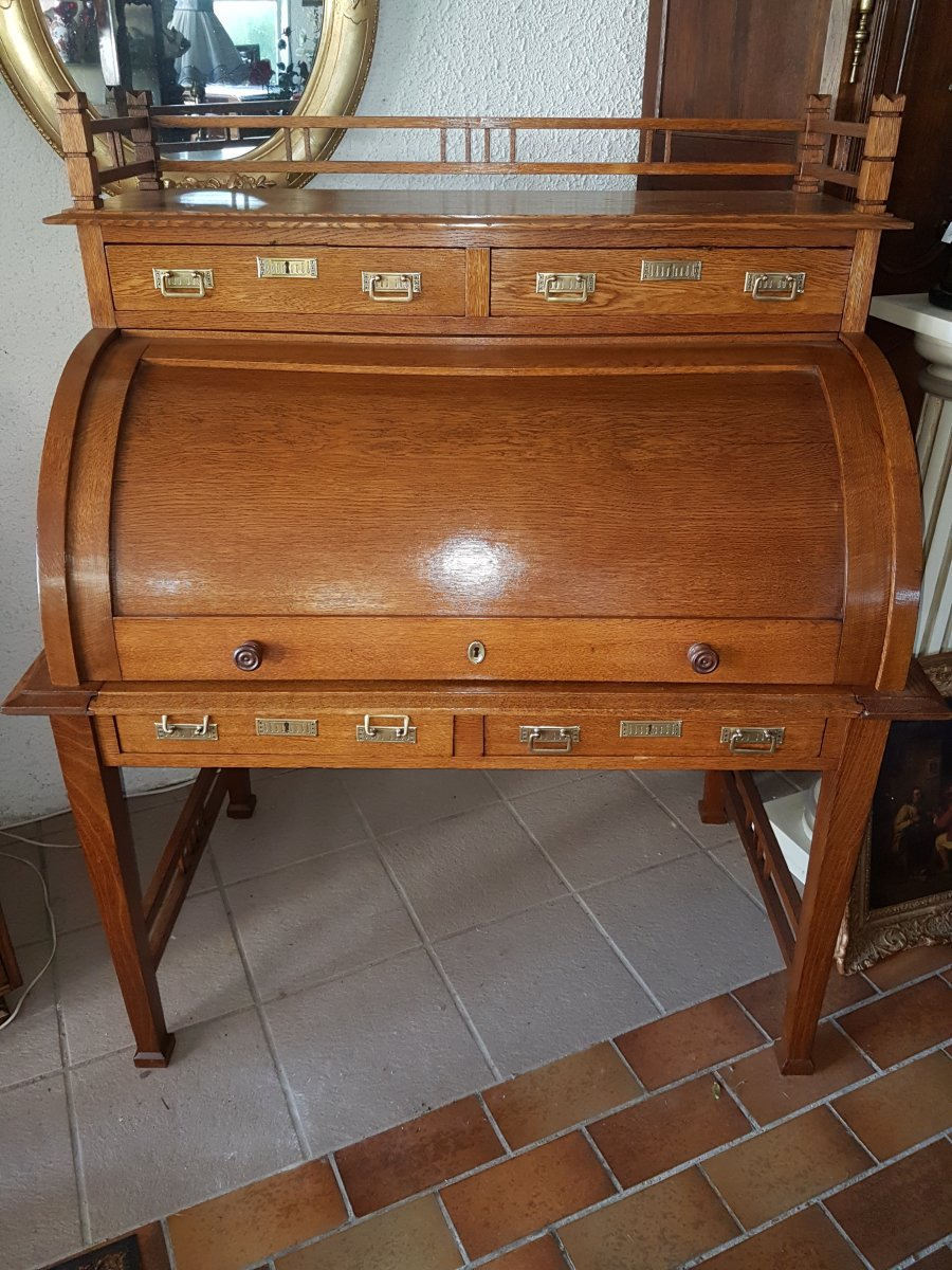 Bureau Cylindre De Gustave Serrurier-bovy