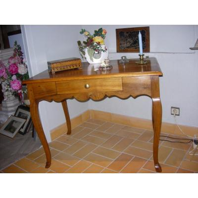 Table Bureau En Noyer  18ème