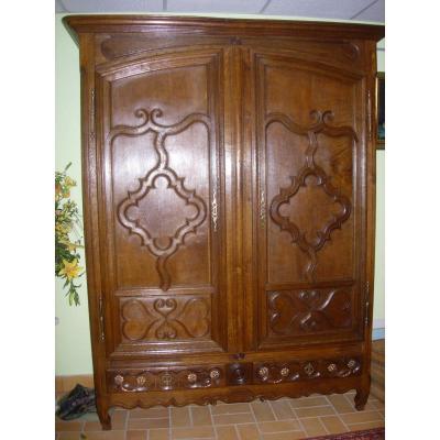 armoire ancienne sur proantic 19 me si cle. Black Bedroom Furniture Sets. Home Design Ideas