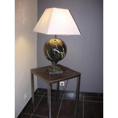 Great Lamp Earth Glazed Cotta
