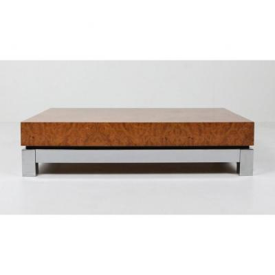 Coffee Table By Jean-claude Mahey 1970-1979