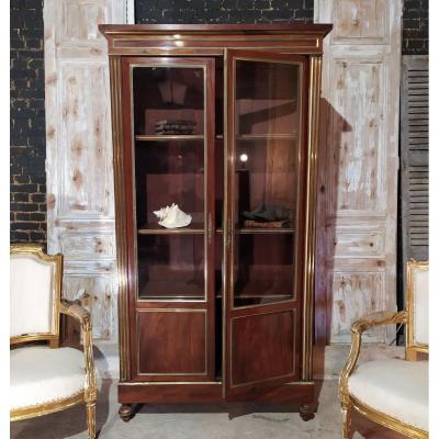 Bibliothèque Style Louis XVI En Acajou