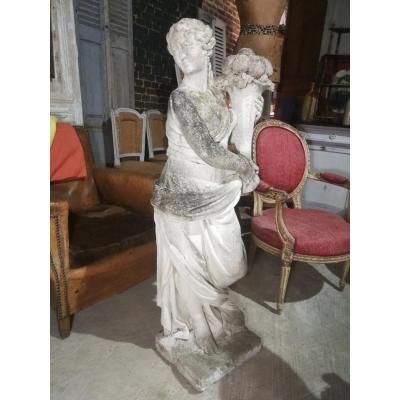 Statue Pierre Reconstitué