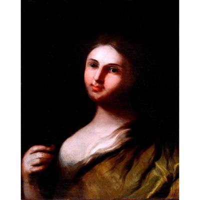 Elisabetta Sirani (1638-1665), Attribué à, Saint Martyr, Huile Sur Toile