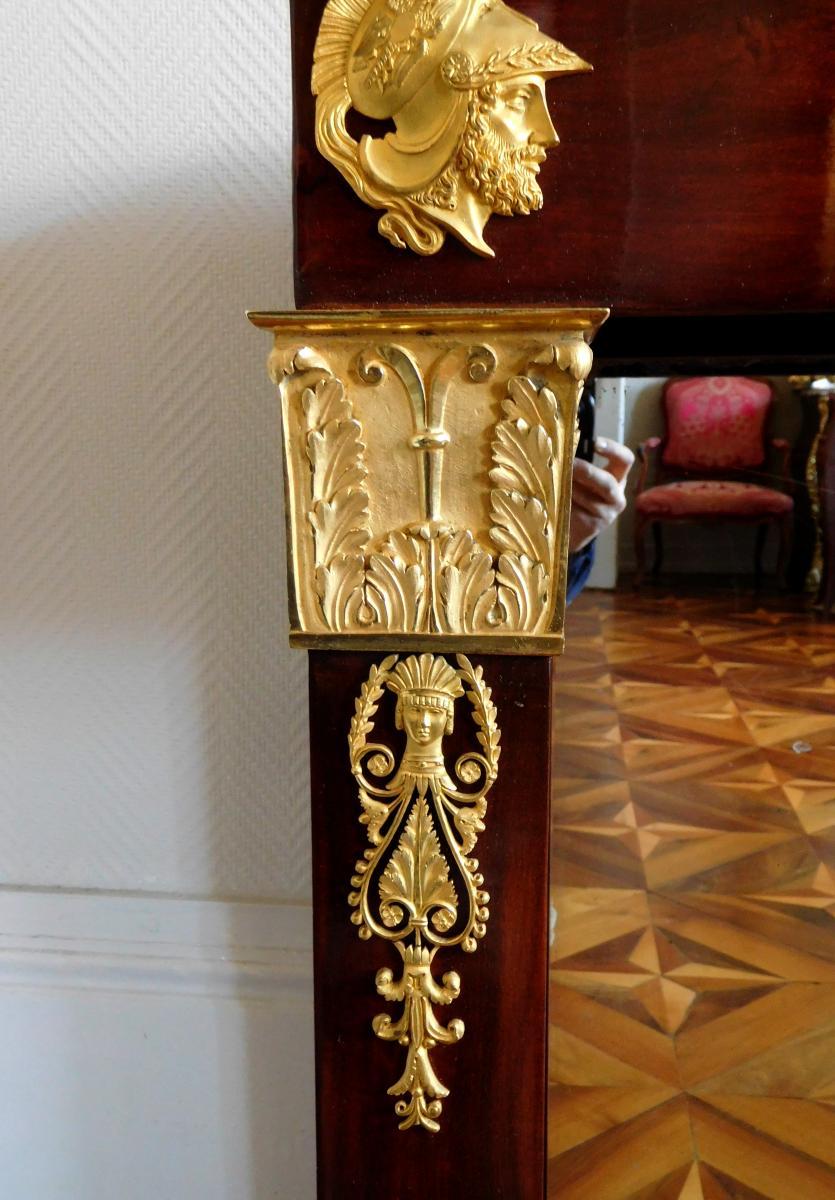 Thomire Dutherme - Console En Acajou Et Bronze Doré d'époque Empire