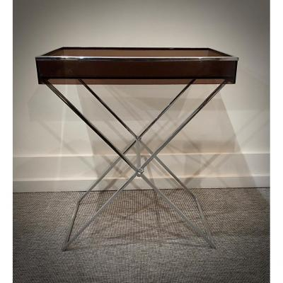 Table D'appoint Plexi  70s.