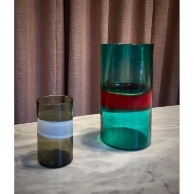 Fulvio Bianconi. Glasses.