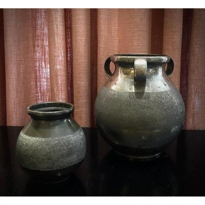 Vases . Pierre Dumont . Circa 1930.