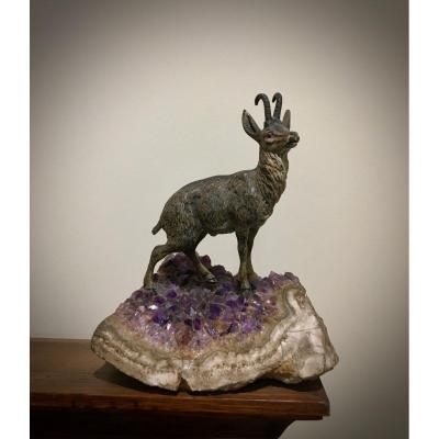 Chamoix Bronze De Vienne