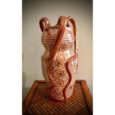 Vase Hispano Mauresque