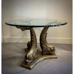 Table Aux Dauphins XXe