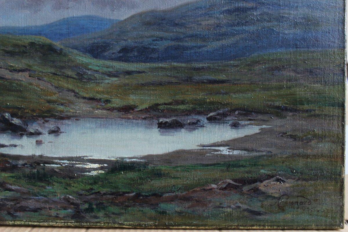 Félix Choisnard (1846-1924). Les Monts d'Arrée en Bretagne-photo-1