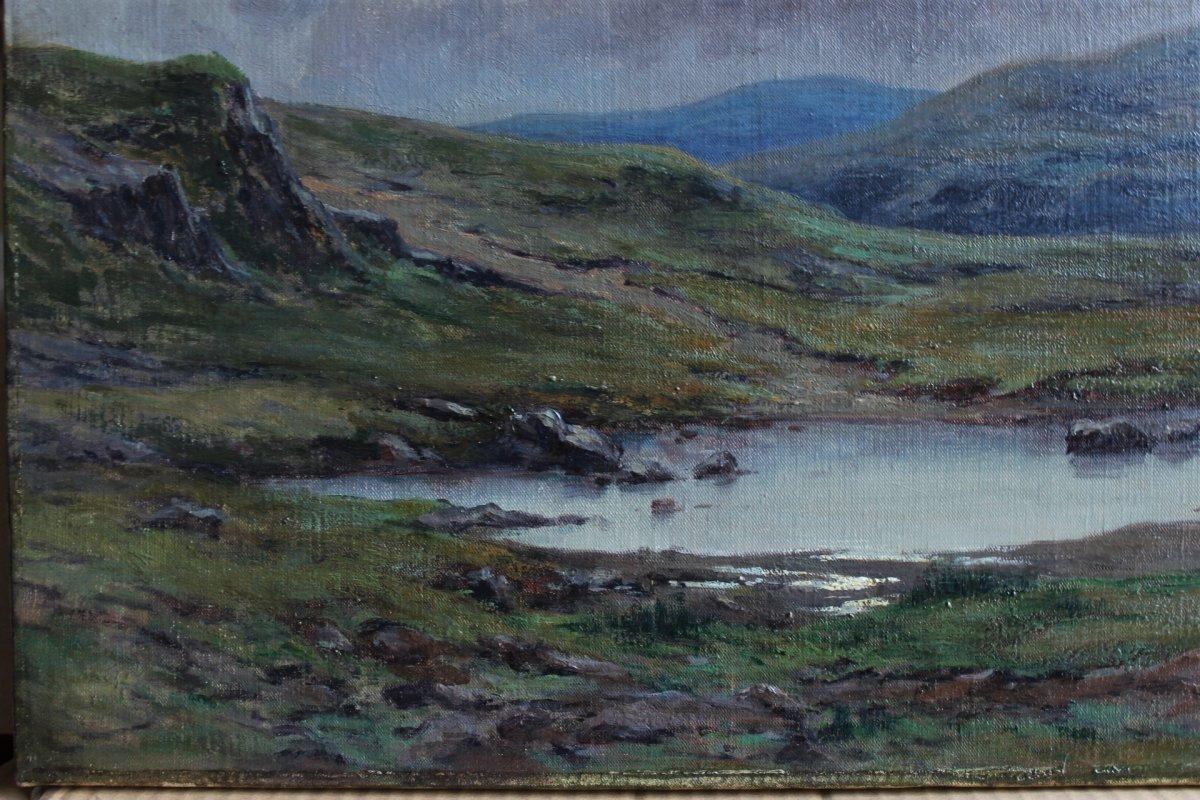 Félix Choisnard (1846-1924). Les Monts d'Arrée en Bretagne-photo-2