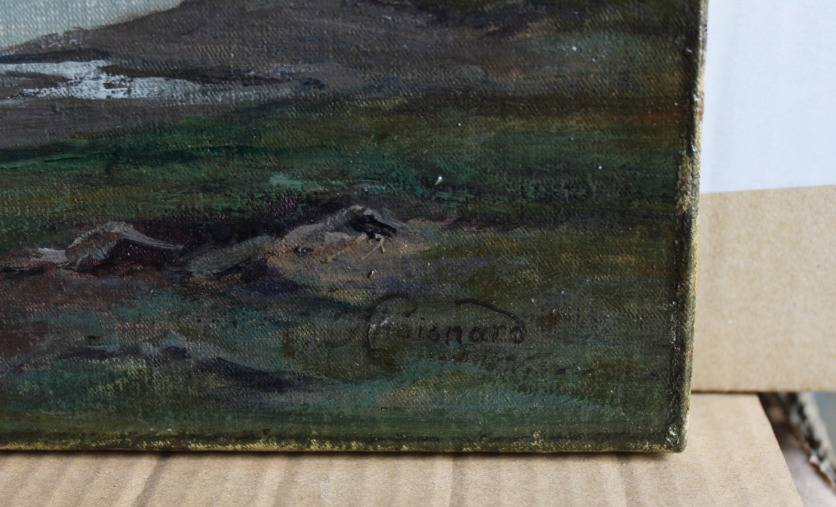 Félix Choisnard (1846-1924). Les Monts d'Arrée en Bretagne-photo-3