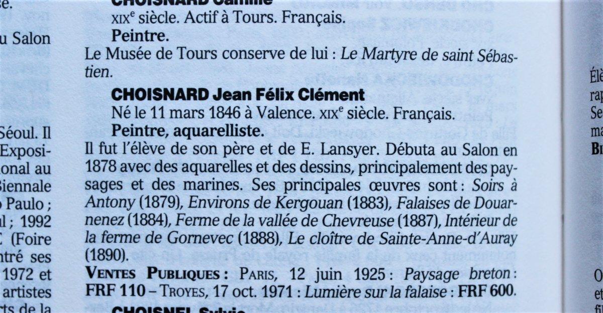 Félix Choisnard (1846-1924). Les Monts d'Arrée en Bretagne-photo-6