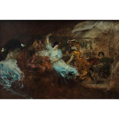 La feria, Jules Machard (1839-1900)
