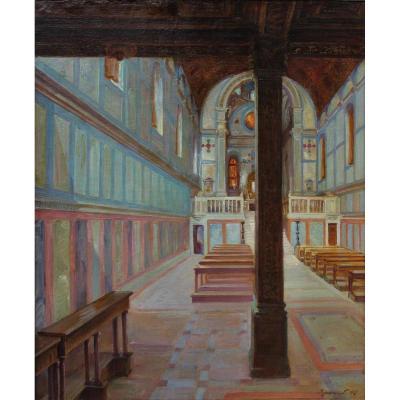 Eglise Ste Marie des Miracles 1907 Venise,P.Bracquemond (1870-1926)