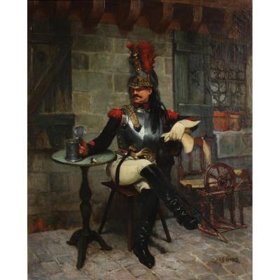 Cuirassier de la garde républicaine, Jean-Jacques Scherrer (1855-1916)