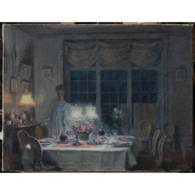 Paul Willame 1898, Dinner At Château Marconne