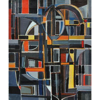 Allegrini 1964 - Composition abstraite