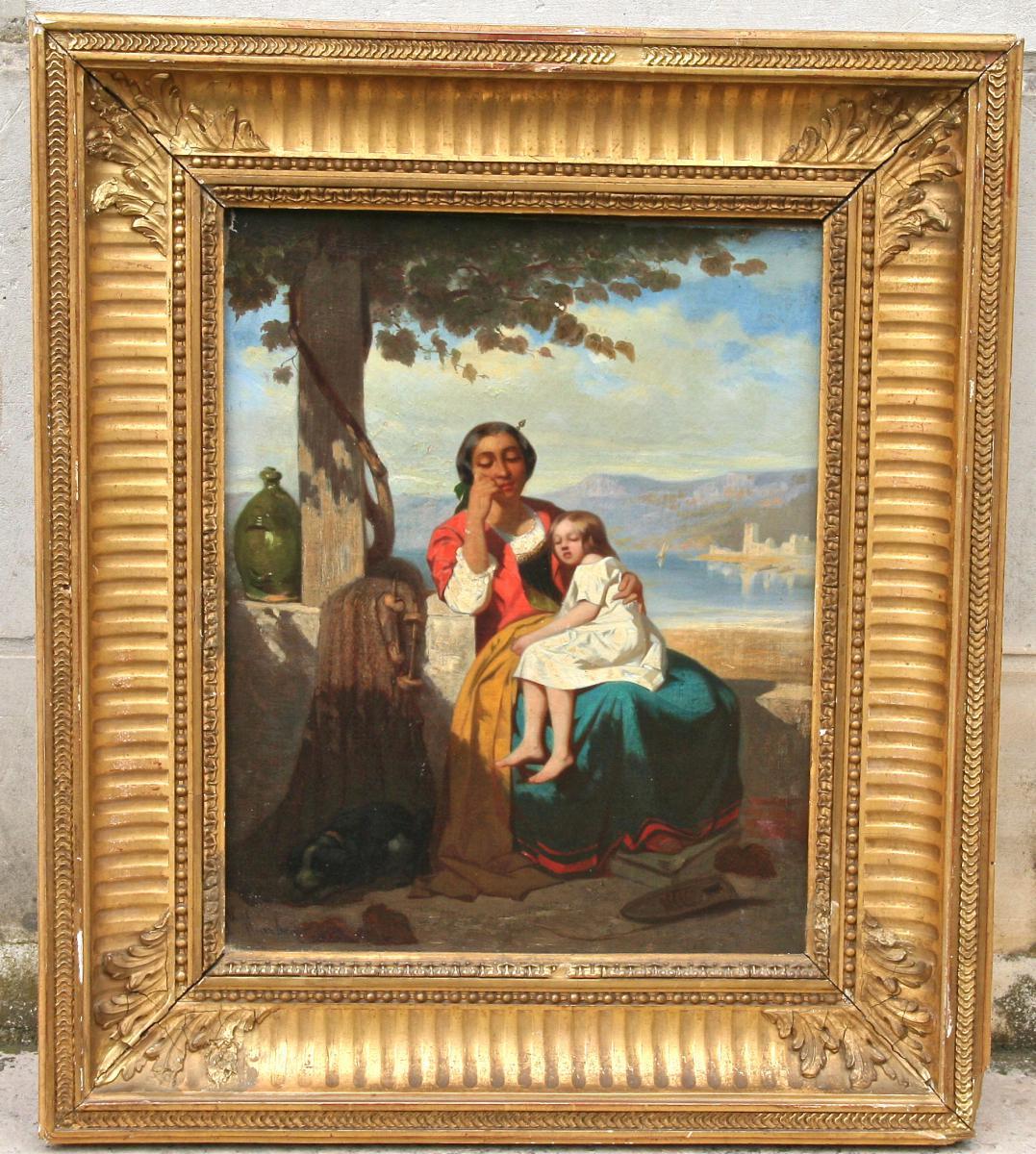 """"""" La Jeune Femme à l'Enfant """" De Philipe Marbeau"""