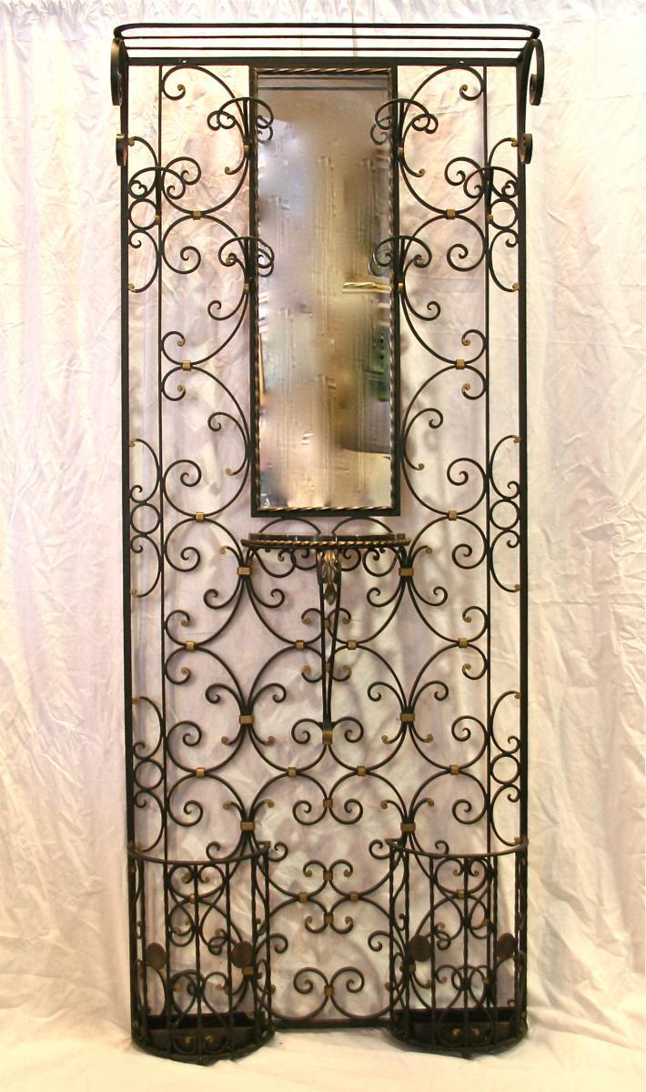 Coats Wrought Iron Gate