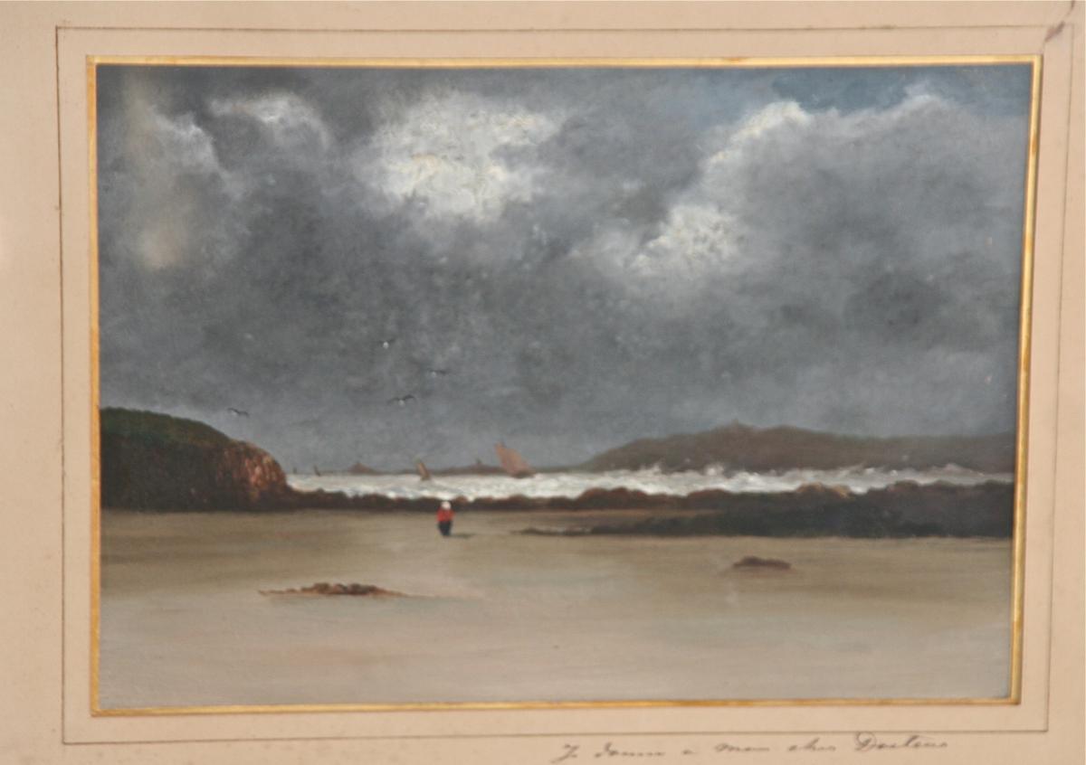 Peinture à l'Huile XIXè