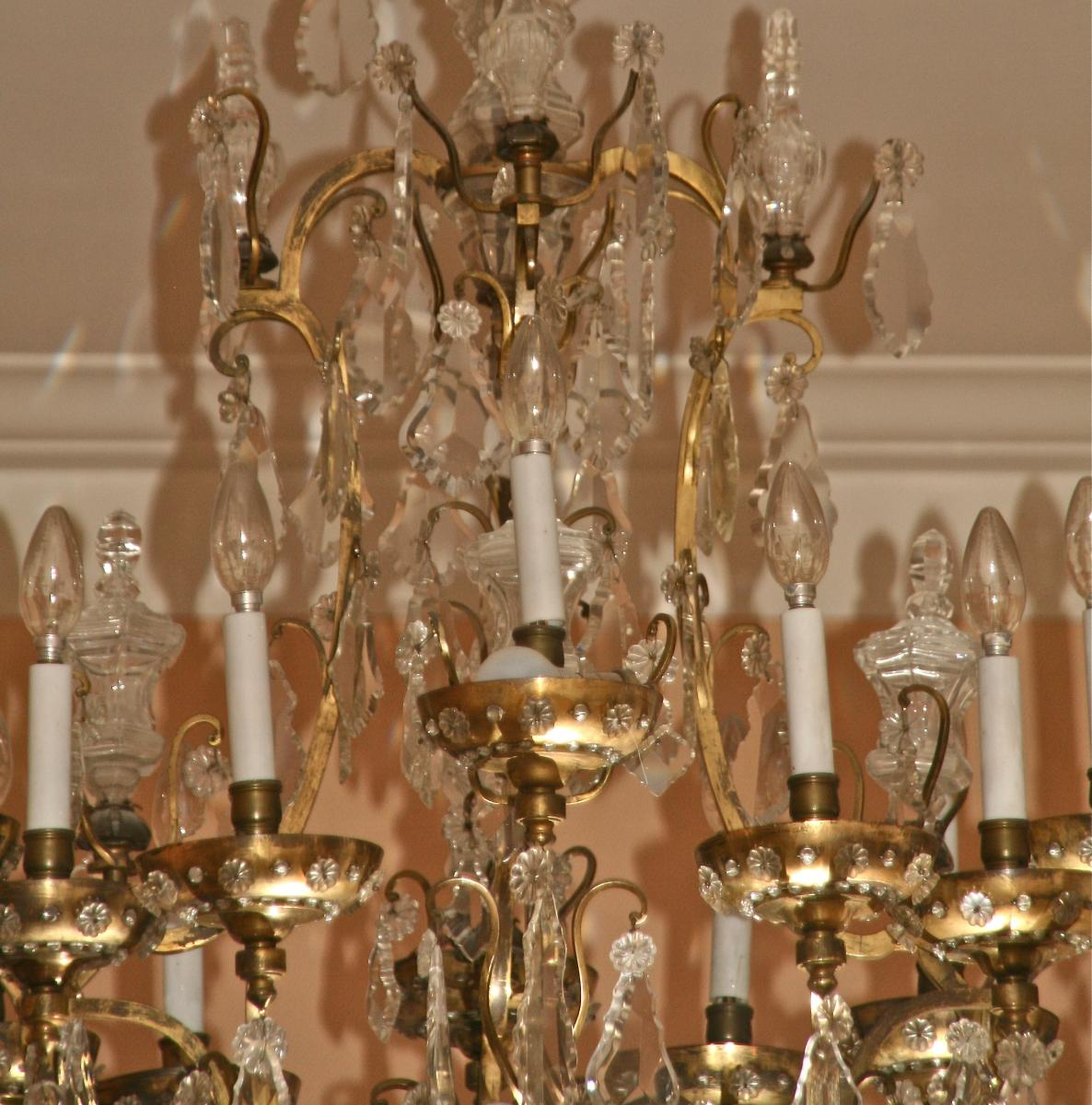Grand chandelier rings early twentieth ceiling lights grand chandelier rings early twentieth aloadofball Images