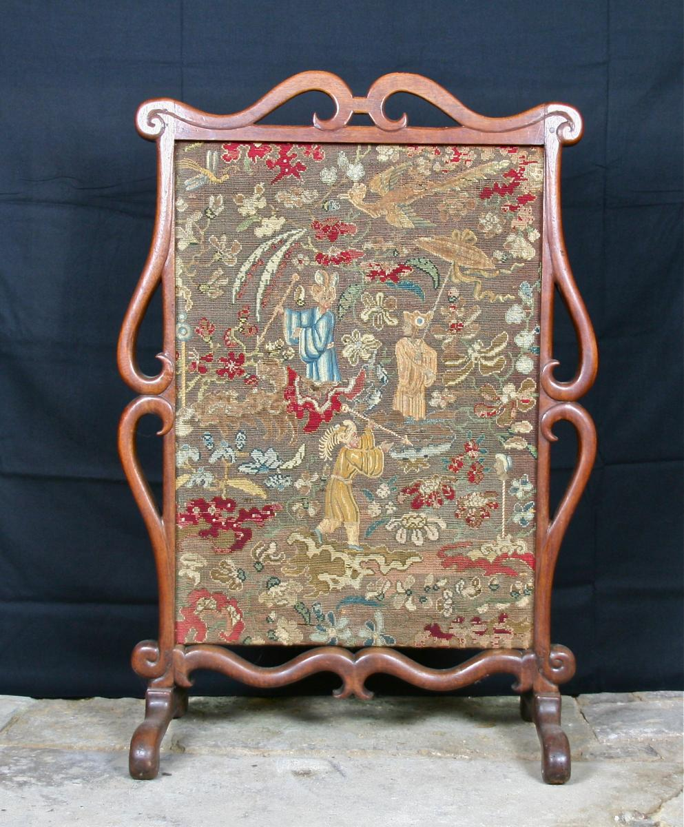 XVIII Firewall Walnut Tapestry