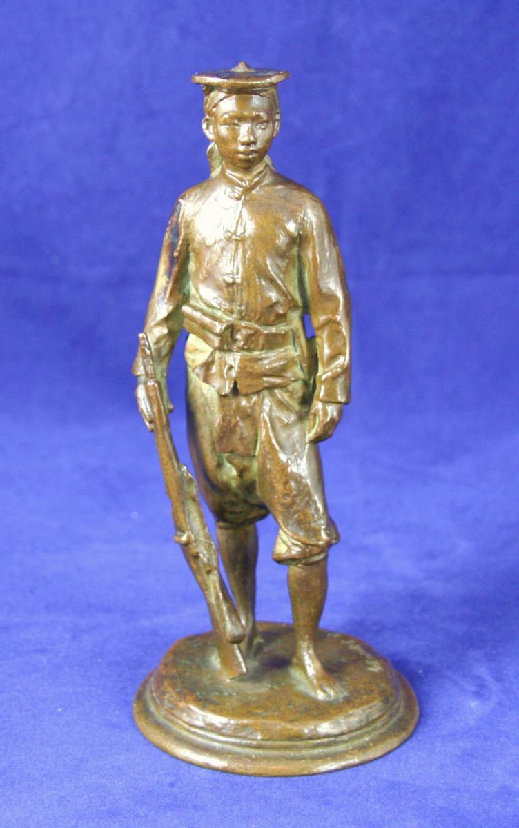 Bronze De Théodore Riviere