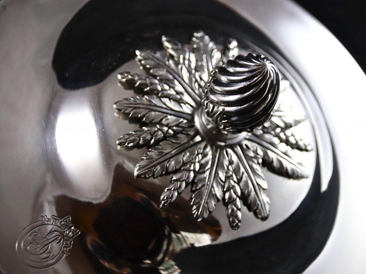 Légumier XVIIIème En Argent Massif-photo-5