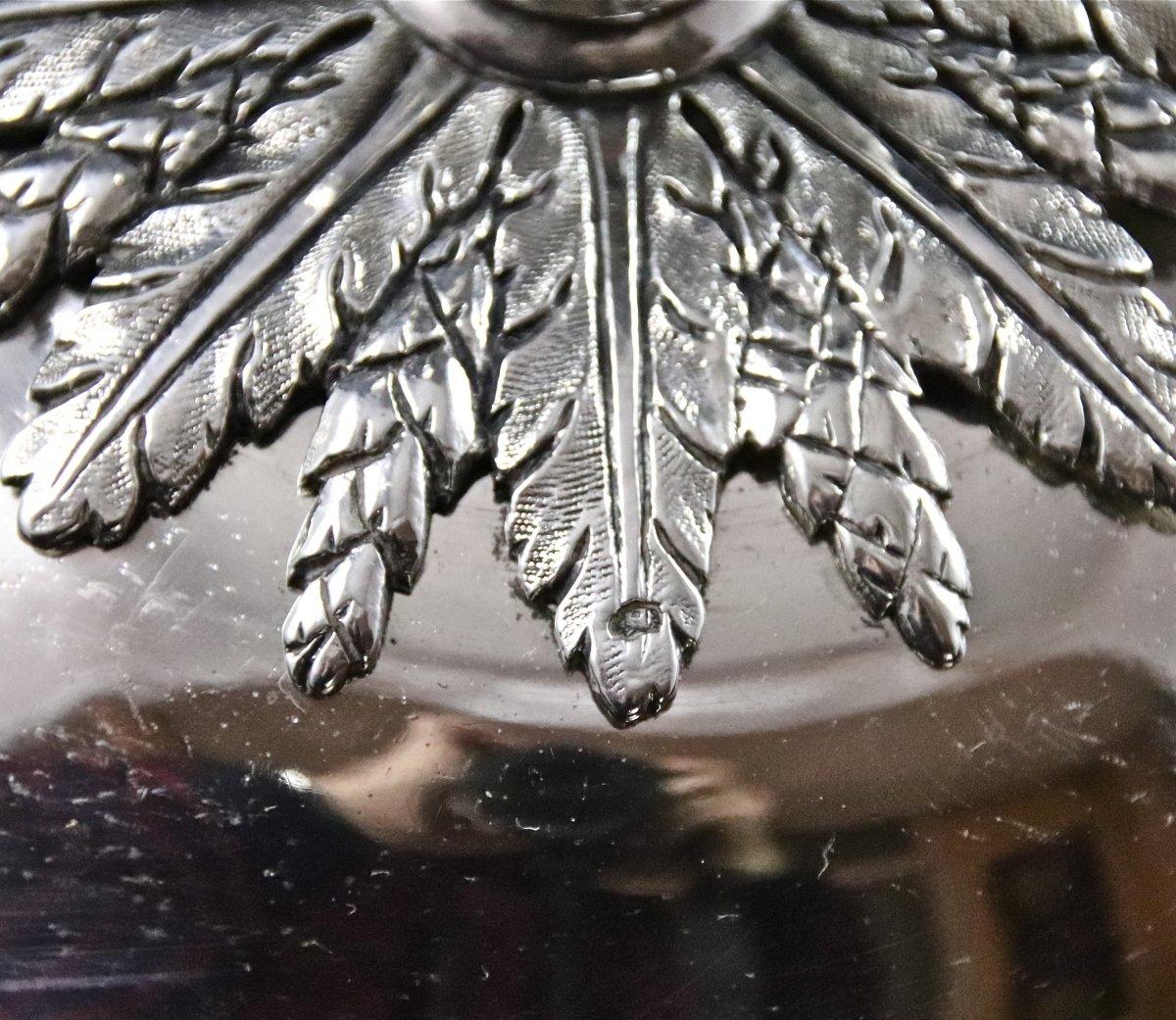 Légumier XVIIIème En Argent Massif-photo-6