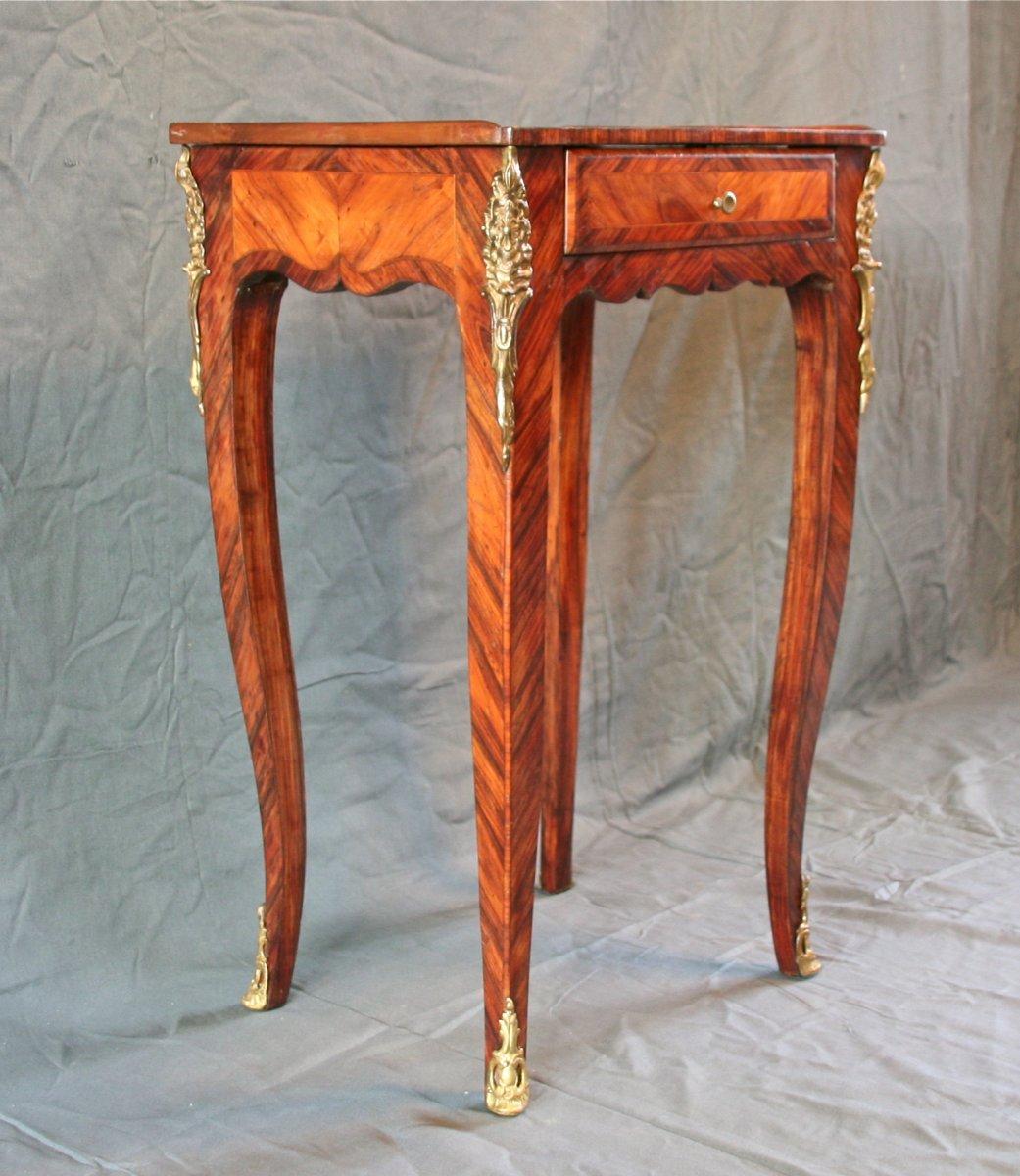 Louis XV Style Flying Table In Veneer