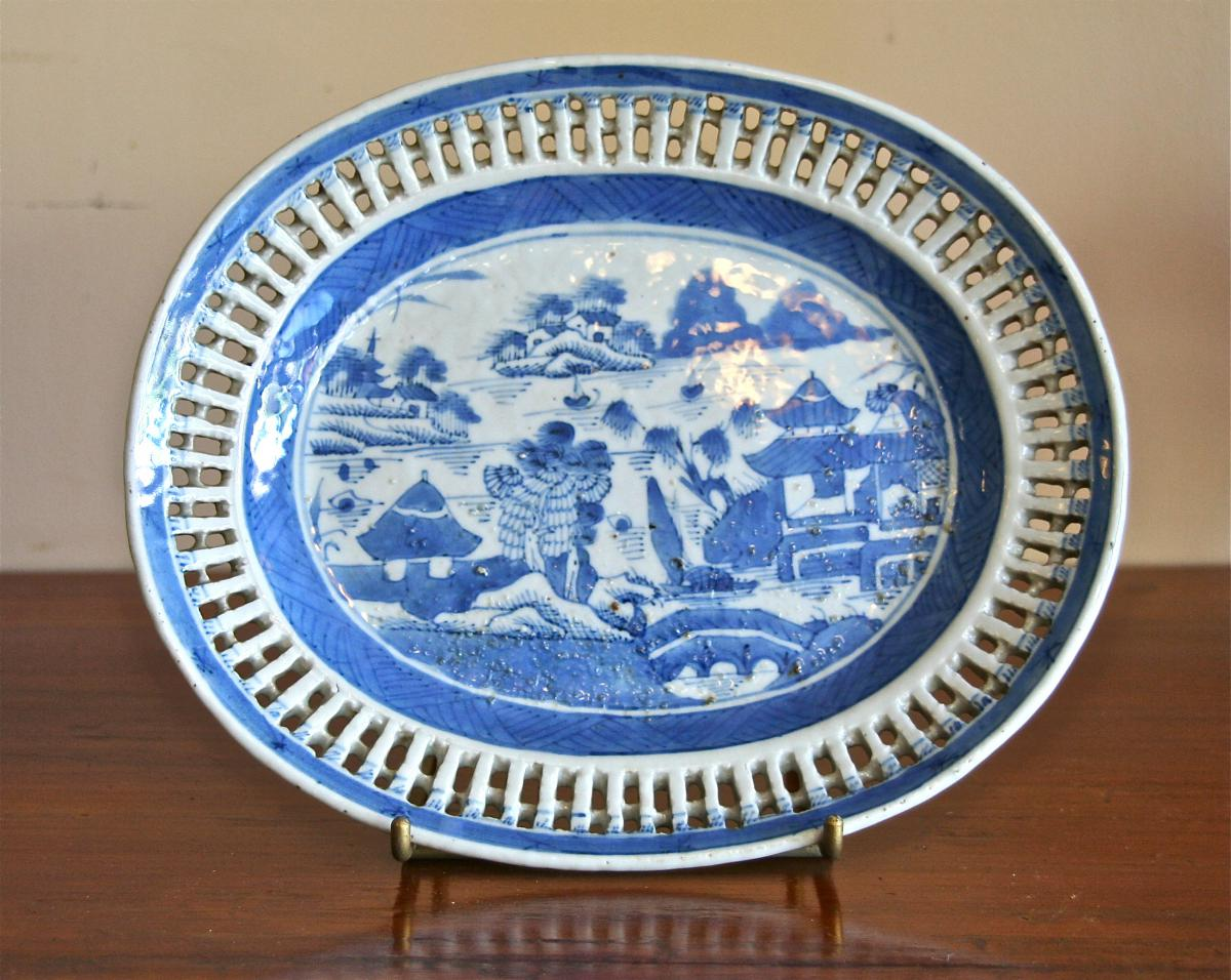Porcelain Dish From China Eighteenth