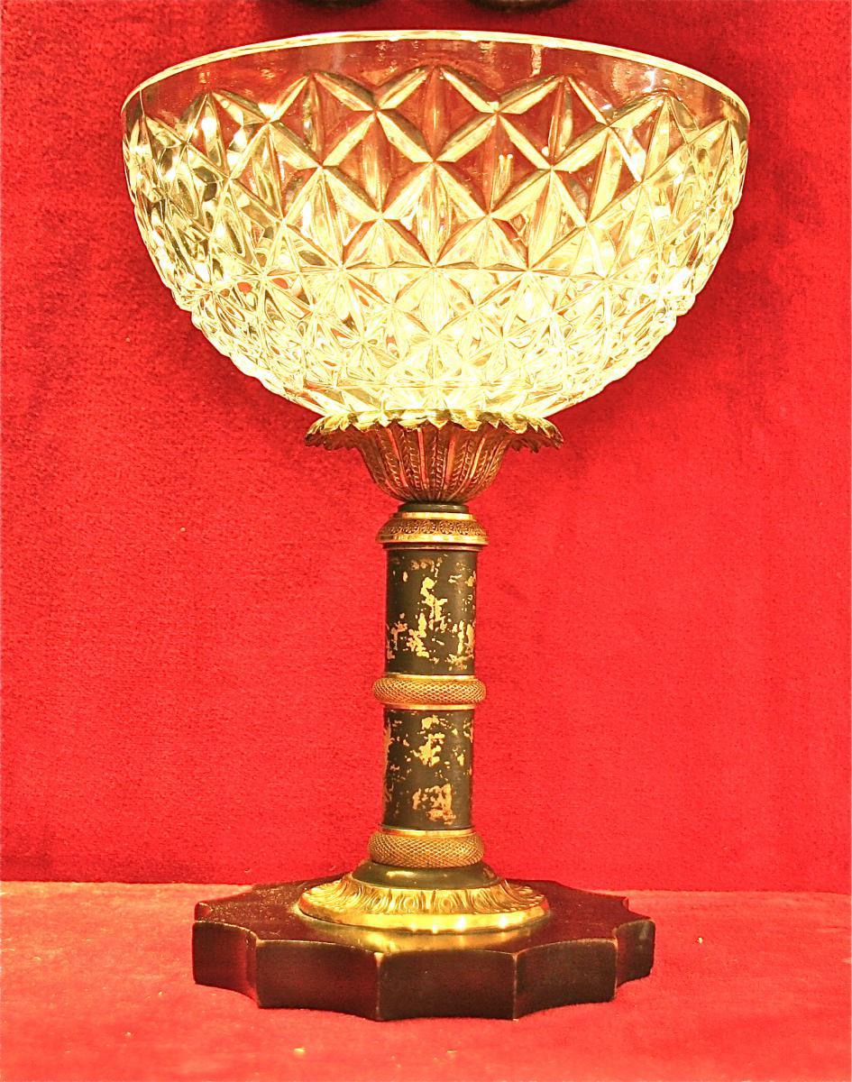Coupe XIXème En Cristal