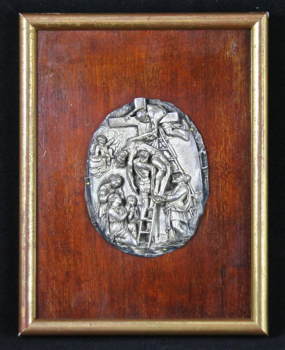 """""""descent From The Cross"""" Copper Silver"""