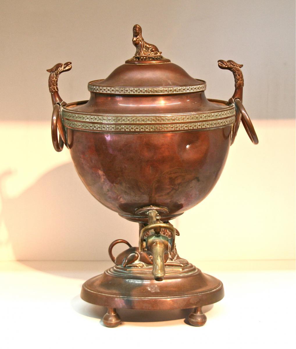 Fontaine de table en cuivre xix me objets d 39 art - Fontaine de table ...