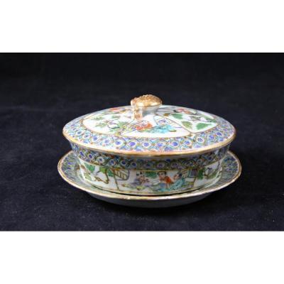 Butter Fruit Bowl XVIII Porcelain China