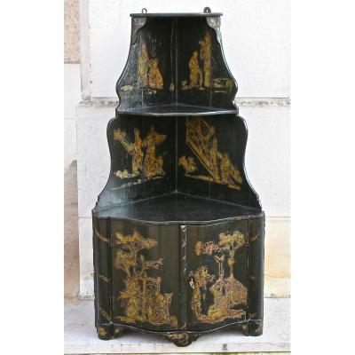 In Eighteenth Corner Lacquer Black Sets To Chinese