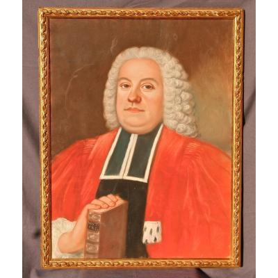 Pastel XIXth Representative A Magistrate