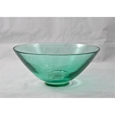 Coupe en verre Art Déco d'André Delatte