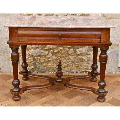 18th Century Table Walnut Louis XIV Style